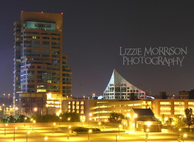 Louisville at night