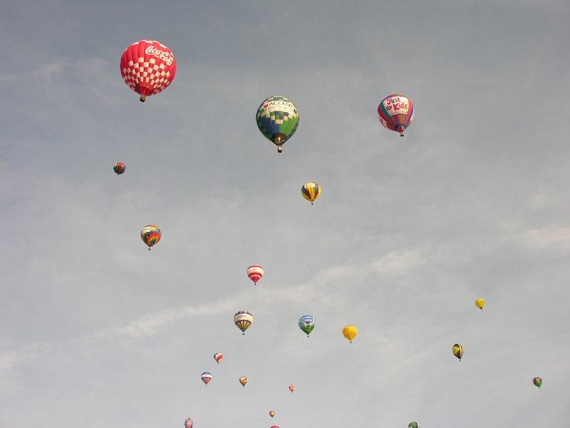 Balloon Race 2008 part deux
