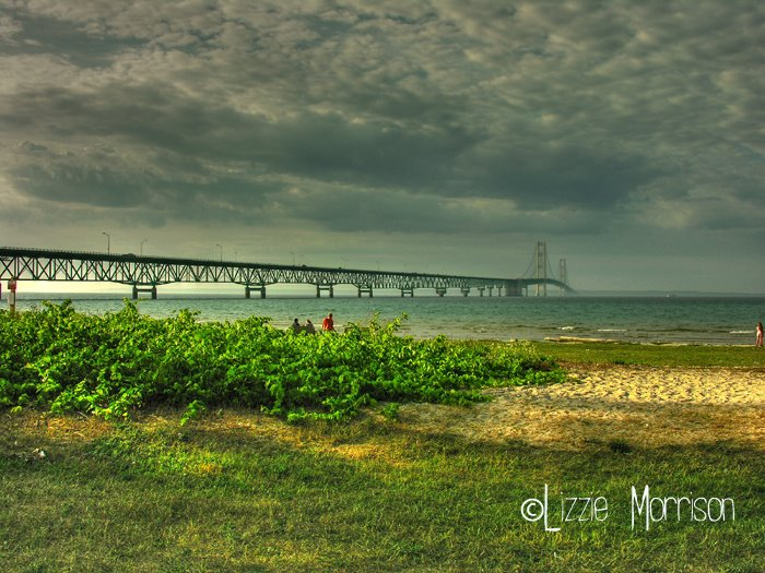 Mackinac Bridge - August 2006