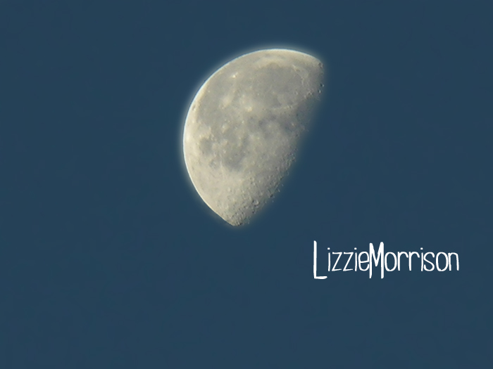 Early morning Moon
