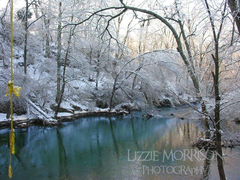 Cherokee Park winter Louisville